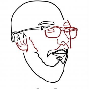 la b(art)be logo blanc